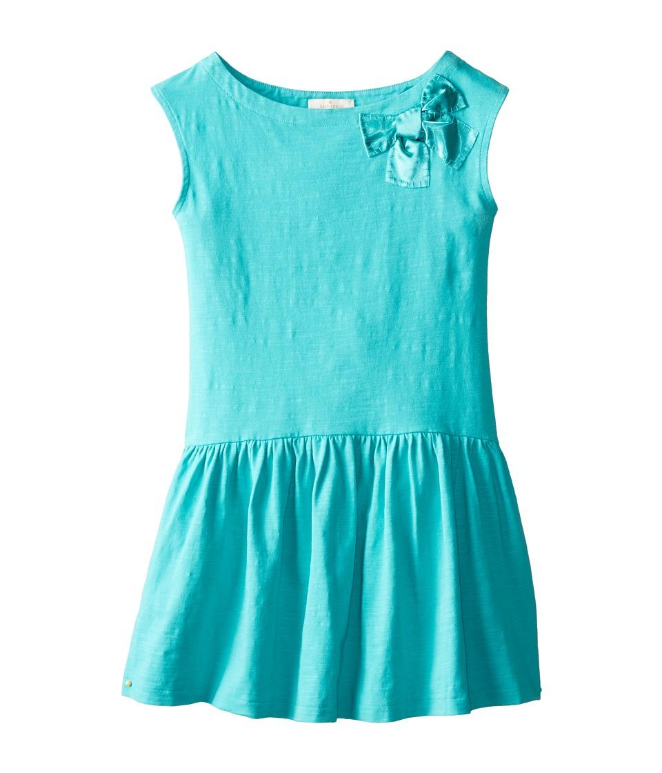 Kate Spade New York Kids - Drop Waist Dress (Big Kids) (Island Blue) Girl's Dress
