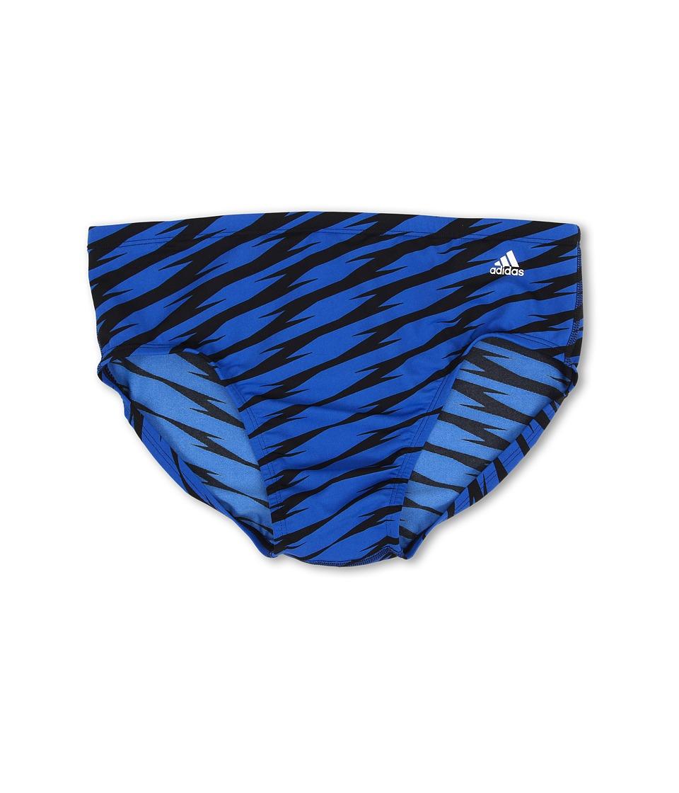 adidas - Shock Wave Brief (Blue) Men