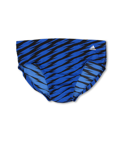 adidas - Shock Wave Brief (Blue) Men