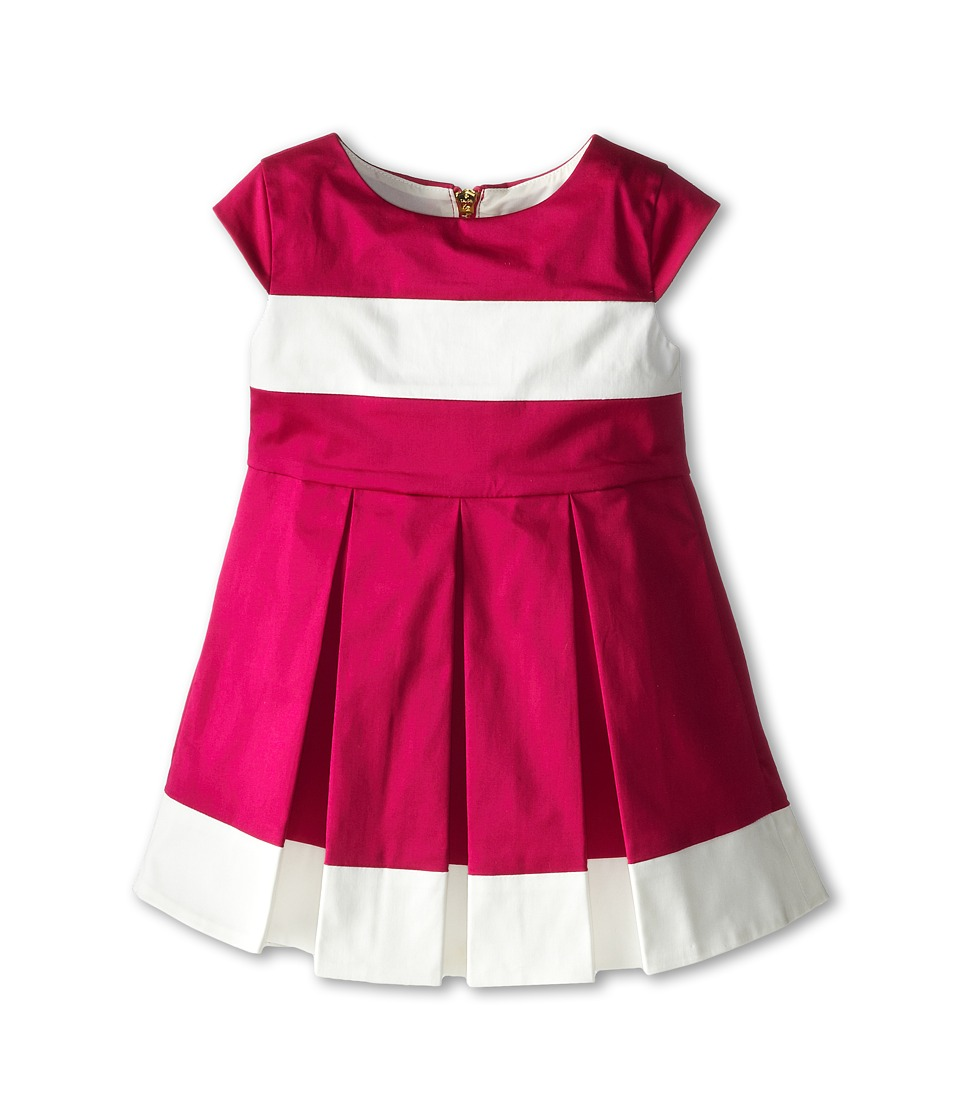 Kate Spade New York Kids - Adette Dress (Toddler/Little Kids) (Sweetheart Pink/Cream) Girl's Dress