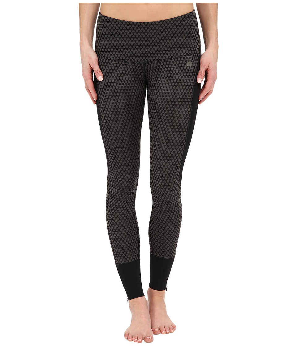 ASICS - Fit-Sana Jacquard Tights (Performance Black) Women's Casual Pants