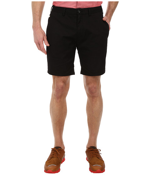Scotch & Soda - Classic Twill Chino Shorts (Black) Men's Shorts