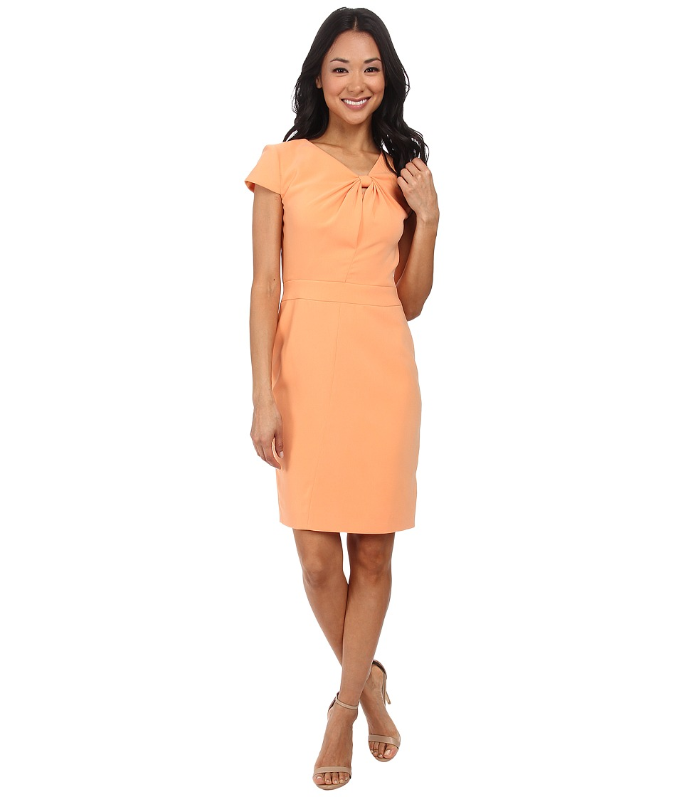 Tahari by ASL - Viviana - W Dress (Apricot) Women's Dress