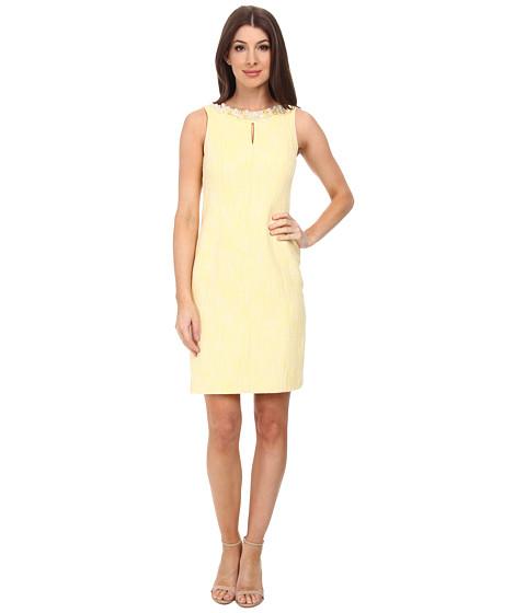 Tahari by ASL - Stella Lee - P Dress (White/Sunshine) Women's Dress