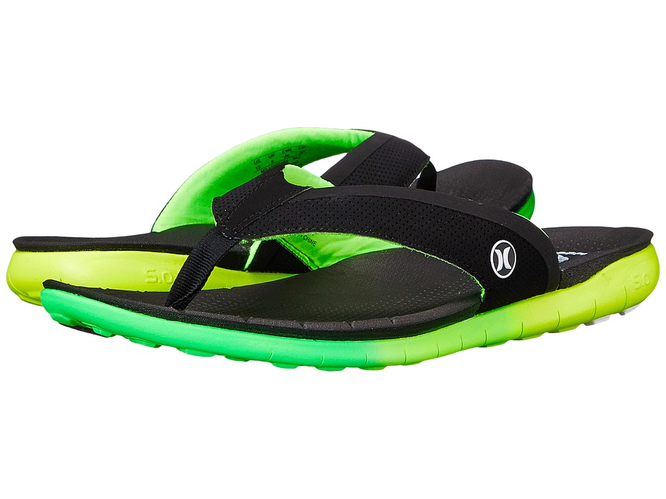 Hurley - Phantom Free Sandal (Voltage Green) Men's Sandals