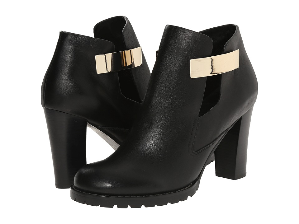 See by Chloe Lug Sole Bootie (Black) Women
