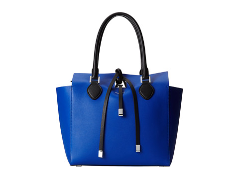 Michael Kors - Miranda Color Block Medium Tote (Cobalt) Tote Handbags