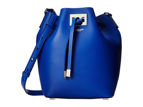 Michael Kors - Miranda Medium Drawstring Messenger (Cobalt) Cross Body Handbags
