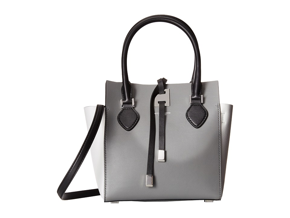 Michael Kors - Miranda Color Block XS Tote (Slate) Satchel Handbags