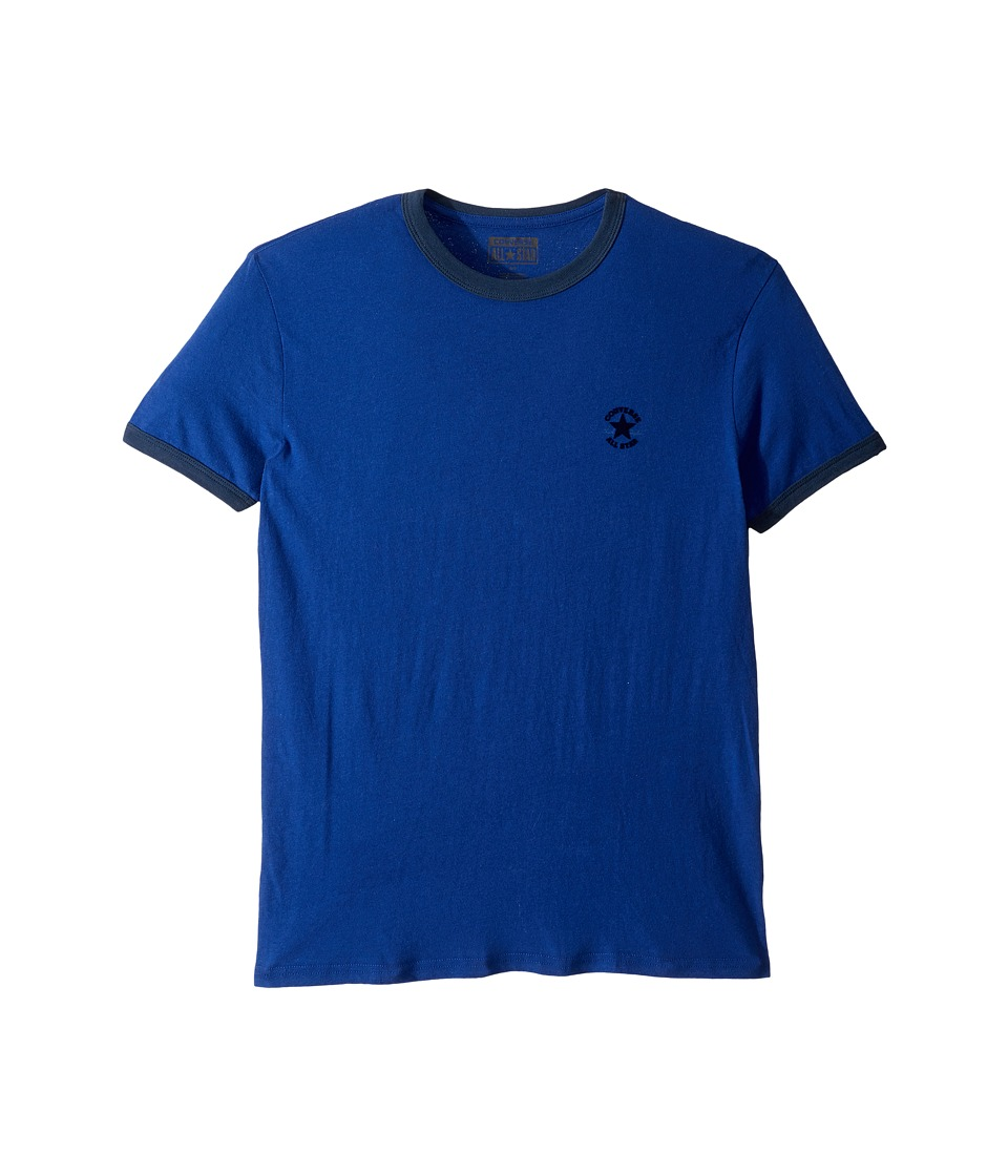 Converse - Chuck Premium Short Sleeve Ringer Tee (Royal Blue) Men's T Shirt