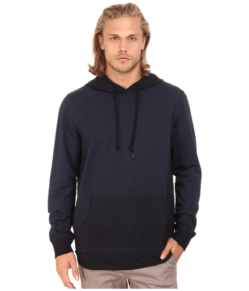 Converse - Black Wash Hoodie (Blue) Men's Sweatshirt