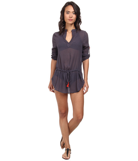 Eberjey - Summer Of Love Parker Cover-Up (Lead) Women's Swimwear