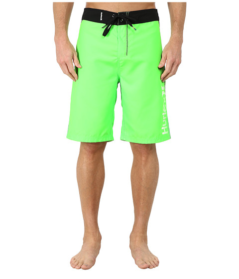 Hurley - Flight Core 3 22 Boardshorts (Voltage Green) Men's Swimwear