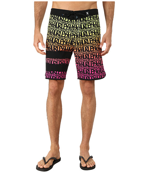 Hurley - Phantom Block Party Haze X Stecyk 19 Boardshorts (Multi) Men's Swimwear