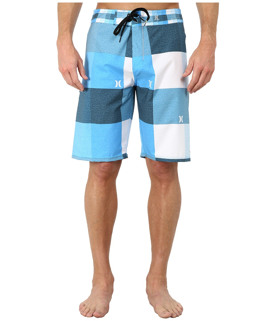 Hurley - Phantom Heathered Kingsroad Boardshort (Photo Blue) Men's Swimwear