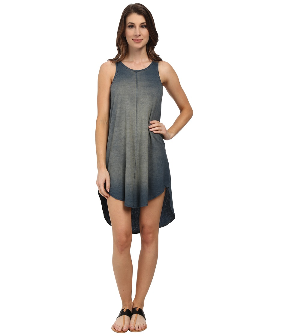 Michael Stars - Indigo Jersey Tank Dress (Vintage Wash) Women's Dress