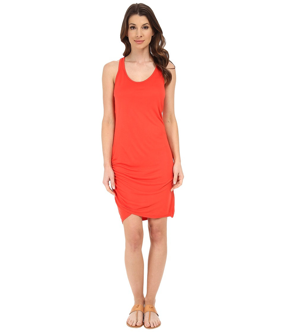 Michael Stars Micro Modal Scoop Neck Racerback Dress (Samba) Women