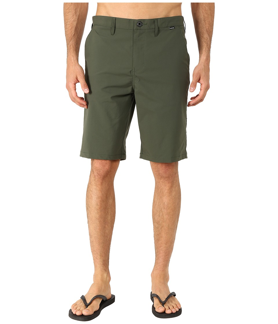 Hurley - Dri-FIT Chino Walkshort (Carbon Green) Men's Shorts