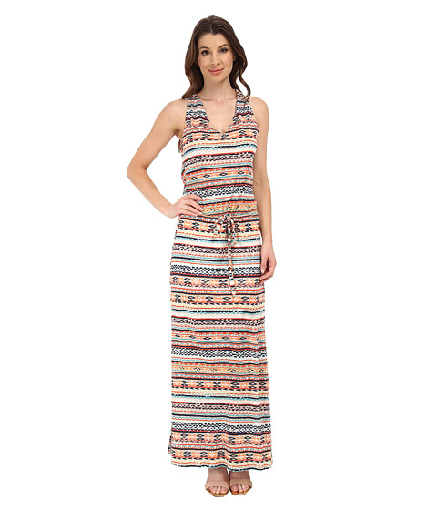 Michael Stars - Tribal Print Maxi Dress (Multi) Women