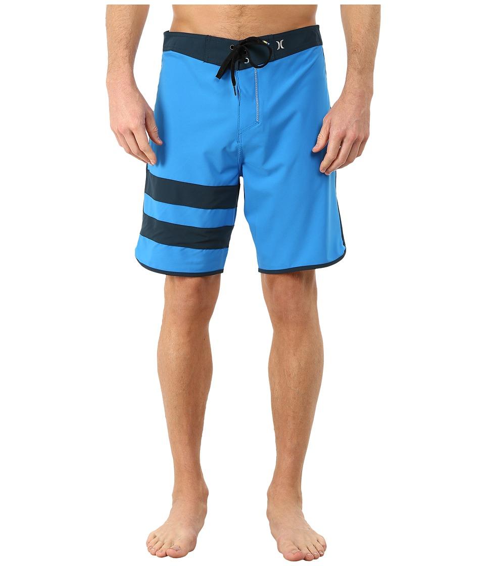 Hurley - Block Party Solid Phantom Boardshort (Photo Blue) Men