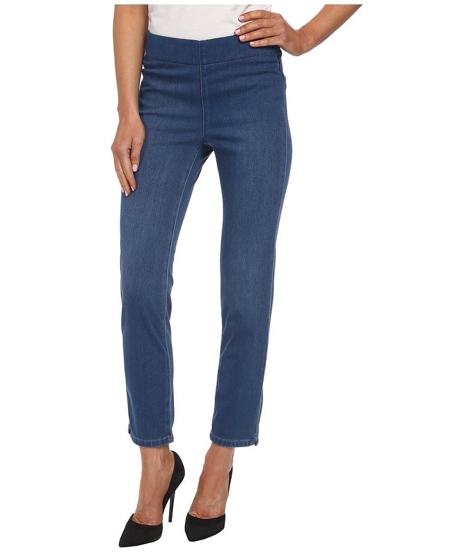 NYDJ - Mille Ankle Indigo Knit Jeans in Medium Edgemont (Medium Edgemont) Women's Jeans