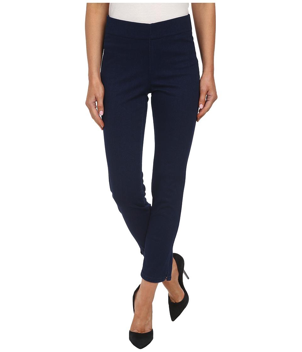 NYDJ - Mille Ankle Indigo Knit Jeans in Dark Flinton (Dark Flinton) Women's Jeans