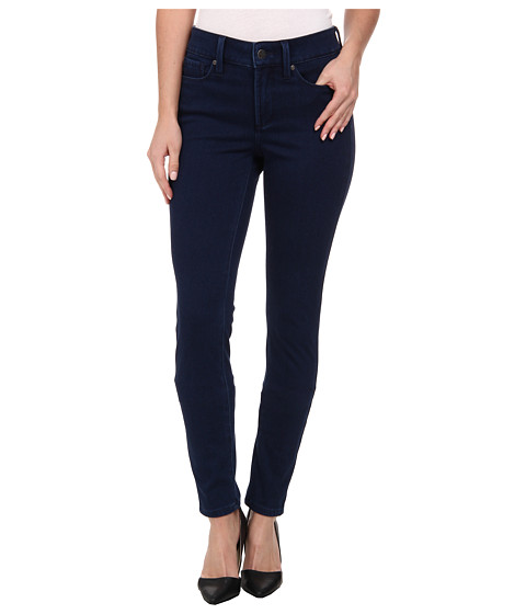 NYDJ - Ami Super Skinny Indigo Knit Jeans in Dark Flinton (Dark Flinton) Women