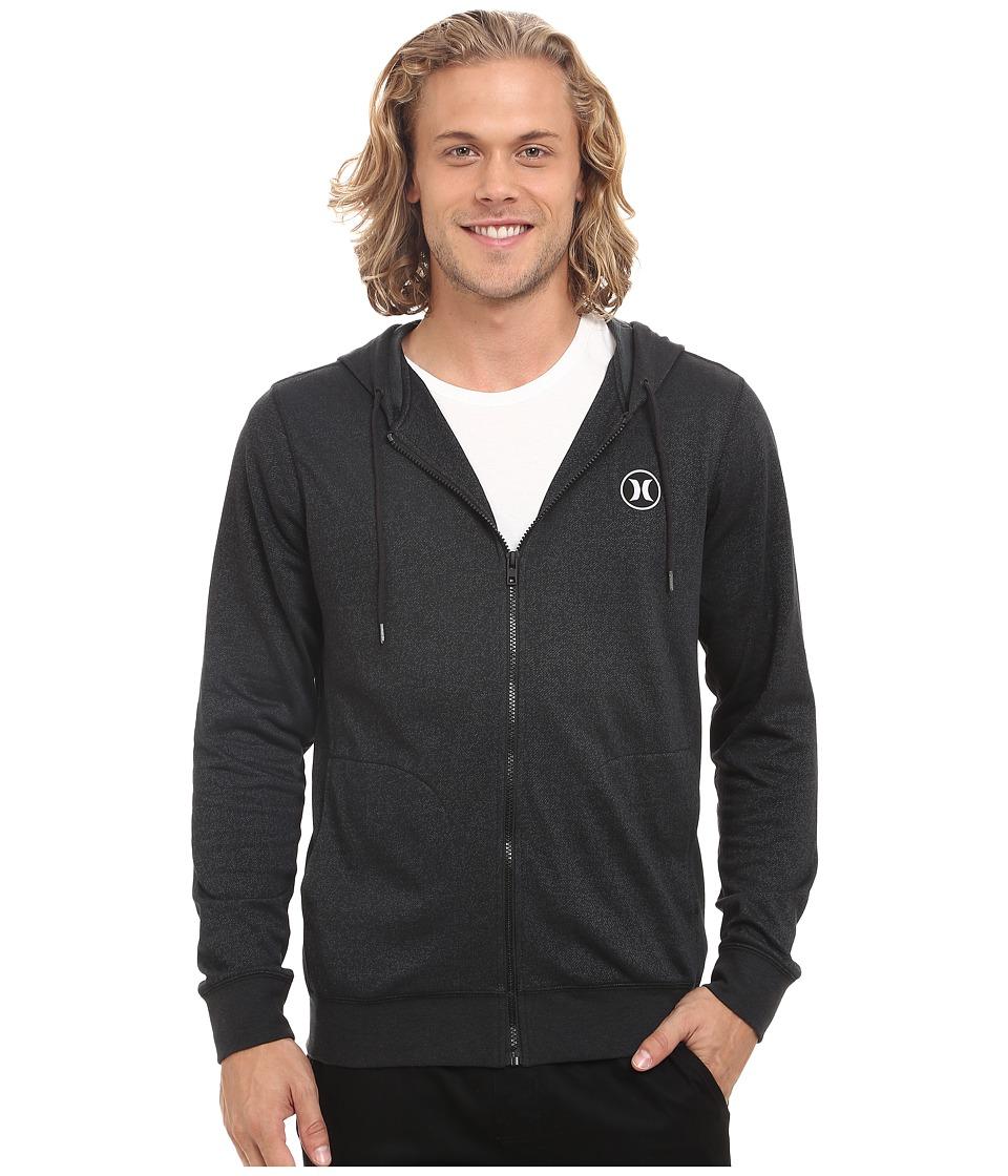 Hurley - Dri-Fit League Zip Fleece (Black) Men's Fleece