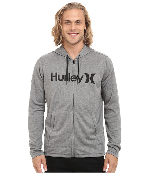 Hurley - Dri-Fit Lake Street Zip (Carbon Heather) Men