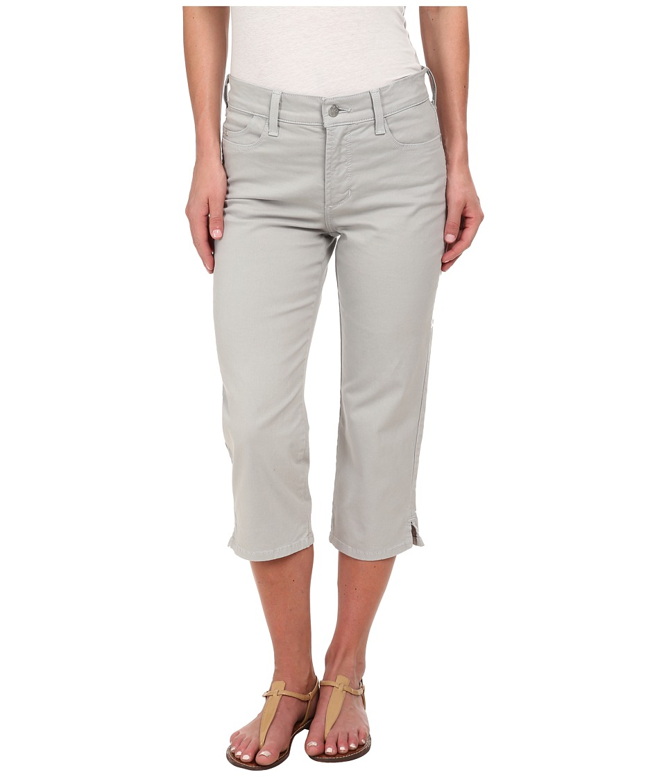 NYDJ - Ariel Crop - Twill (Moonstone Grey) Women's Casual Pants