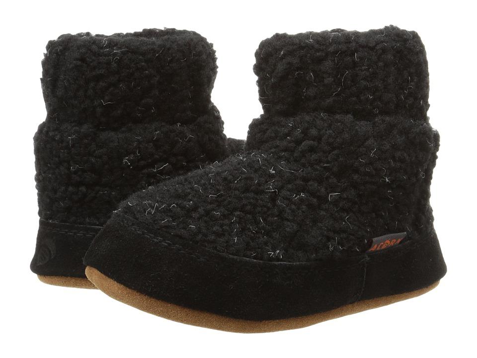 Acorn Kids Kadabra (Toddler/Little Kid/Big Kid) (Black Berber) Girls Shoes