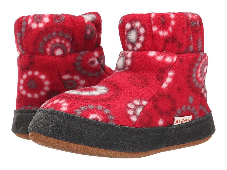 Acorn Kids Kadabra (Toddler/Little Kid/Big Kid) (Red Dots) Girls Shoes