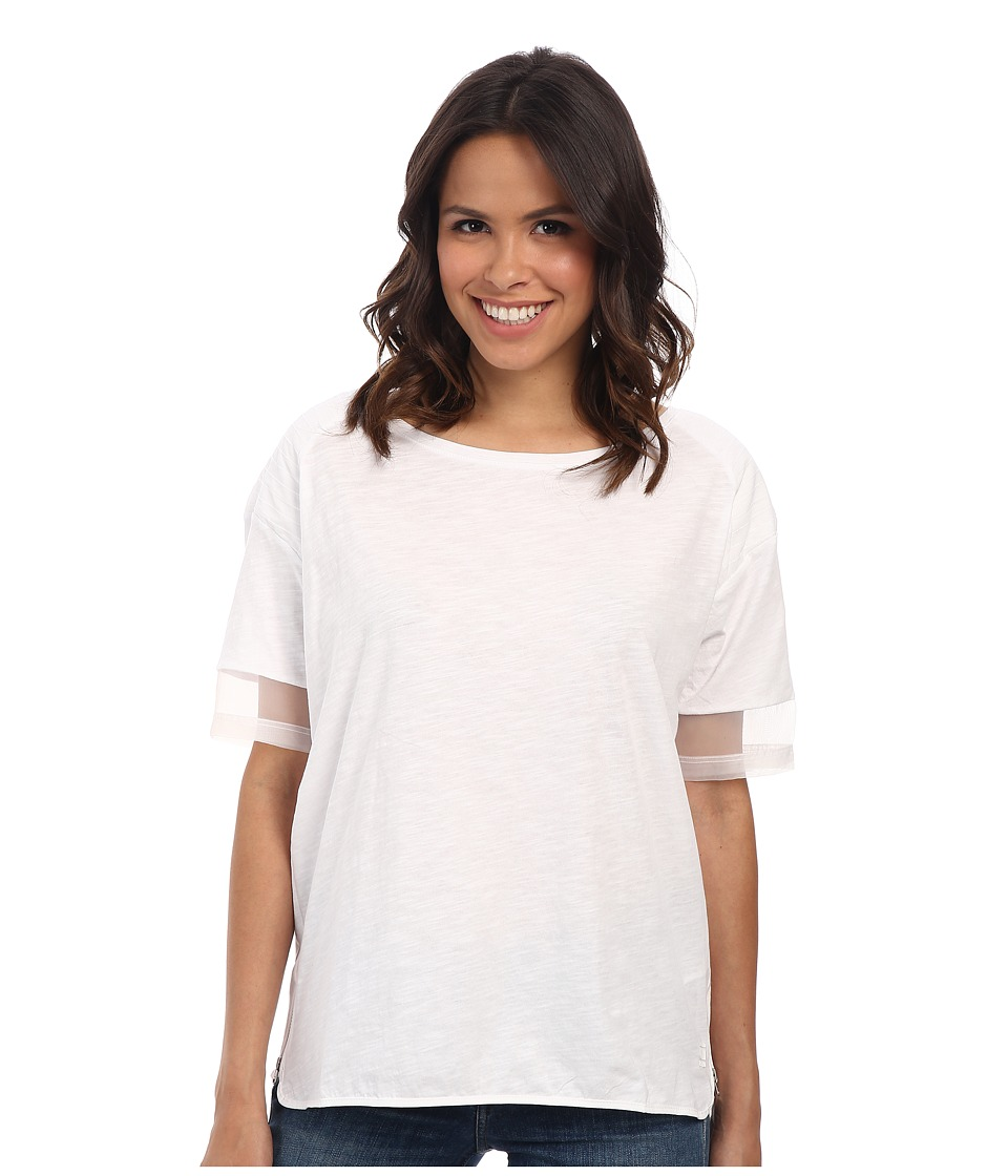 G-Star - Melaky R T Short Sleeve (White) Women's T Shirt