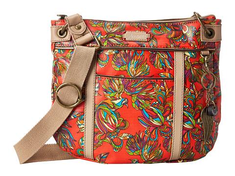 Sakroots - Artist Circle Small Crossbody (Cayenne Treehouse) Cross Body Handbags