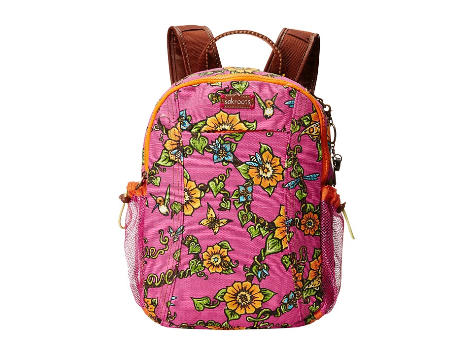 Sakroots - Artist Circle Sporty Backpack (Strawberry True Love) Backpack Bags