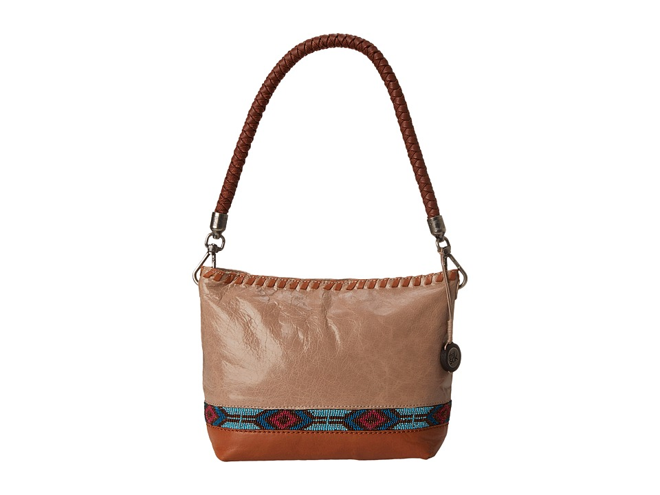 The Sak - Indio Leather Demi (Shitake Beaded) Shoulder Handbags