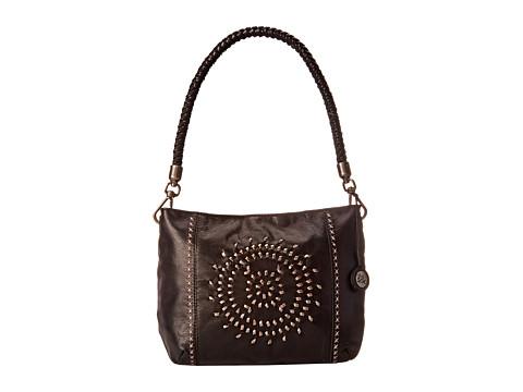 The Sak - Indio Leather Demi (Black Whipstitch) Shoulder Handbags