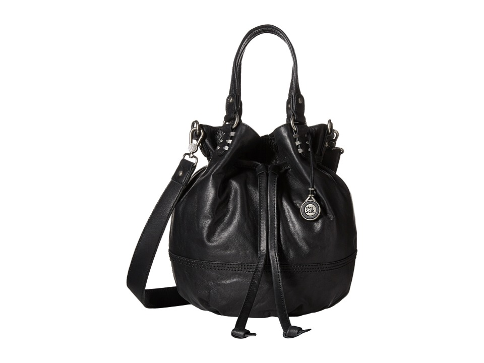 The Sak - Mateo Drawstring (Black) Drawstring Handbags