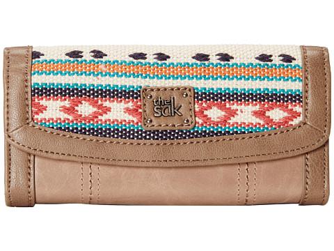 The Sak - Iris Flap Wallet (Shitake Loom) Wallet Handbags