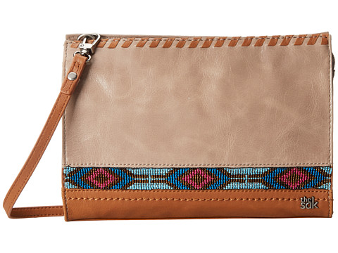 The Sak - Iris Demi Clutch (Shitake Beaded) Clutch Handbags