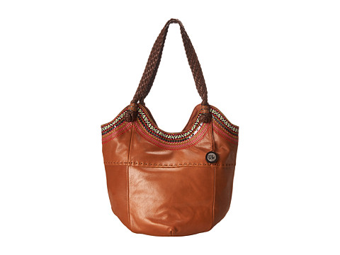 The Sak - Indio Large Tote (Tobacco Ribbon) Shoulder Handbags