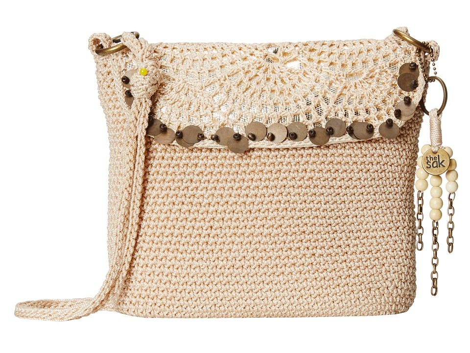 The Sak - Kearny Crossbody (Alabaster Sequins) Cross Body Handbags