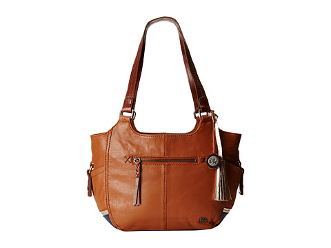 The Sak - Kendra Satchel (Golden Tobacco Block) Satchel Handbags