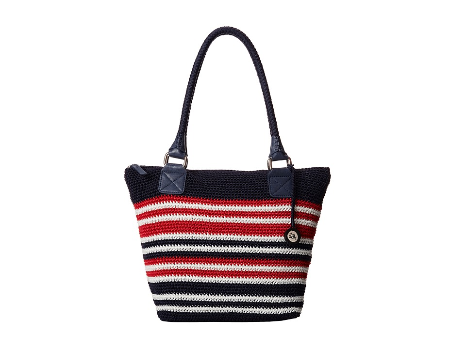 The Sak - Cambria Large Tote (Anthem Stripe) Shoulder Handbags