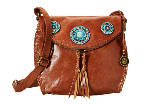 The Sak - Silverlake Crossbody (Tobacco Circle Bead) Cross Body Handbags