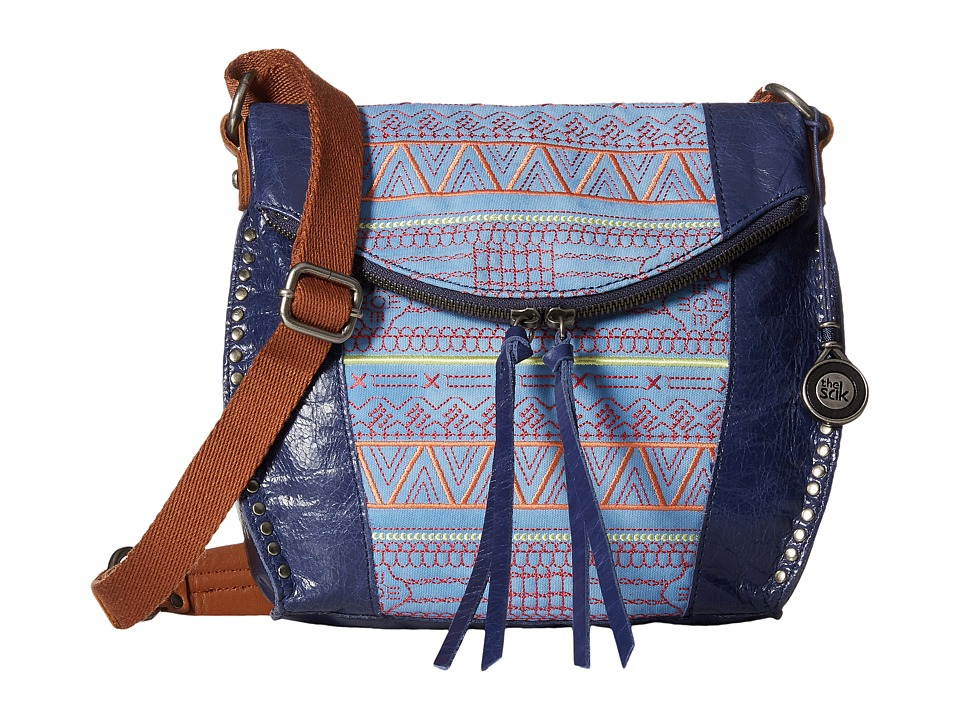 The Sak - Silverlake Crossbody (River Tribal) Cross Body Handbags
