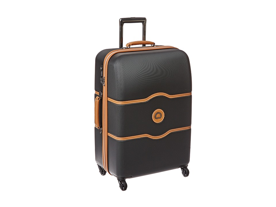 Delsey - Chatelet 24 Spinner Trolley (Black) Pullman Luggage