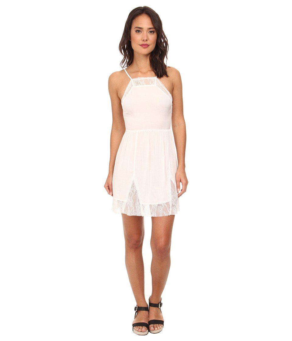 Free People - Lace Slip Dress (Ivory) Women