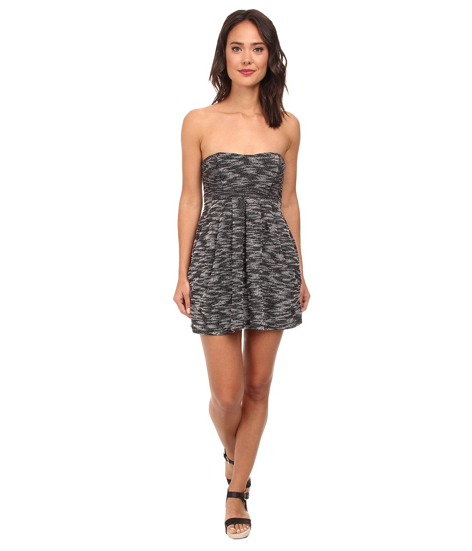 Free People - Nyima Dress (Black/White) Women's Dress