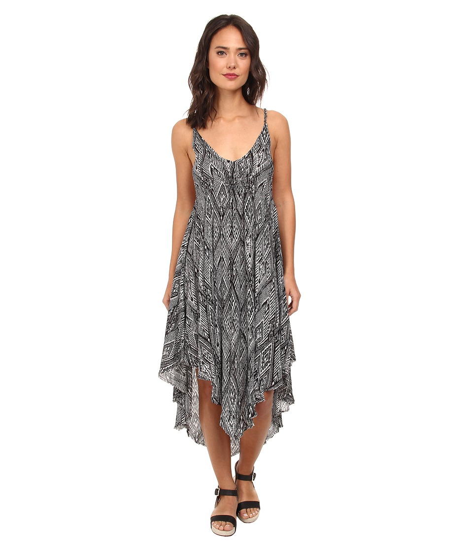 Free People - Knot For Your Slip Dress (Raven) Women's Dress